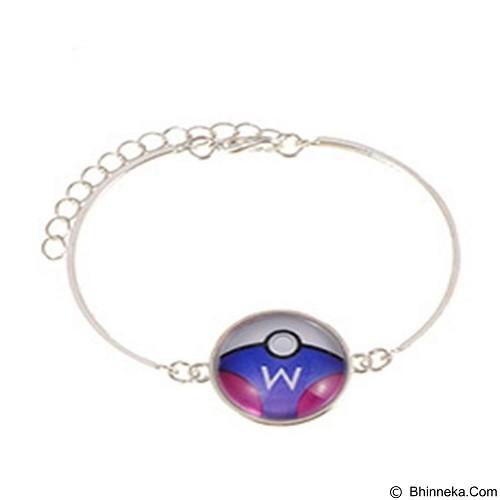 LOVELYNA STORE Pokemon Go Color Matching Bracelet [LS02380F] - Blue (Merchant) - Gelang / Bracelet