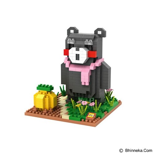 LOZ Blocks 9843 Kumamon Gardening [305002521] (Merchant) - Building Set Movie