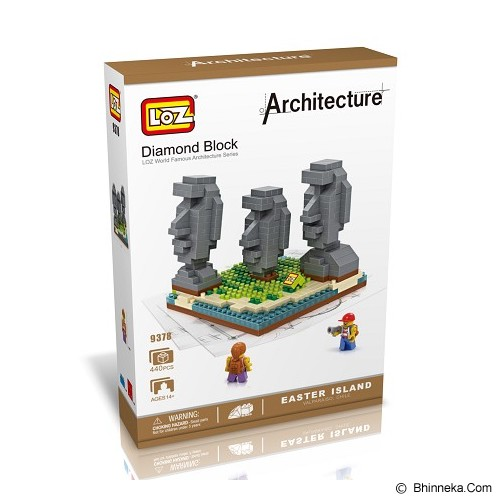 LOZ Blocks Easter Island [9378] - Building Set Architecture