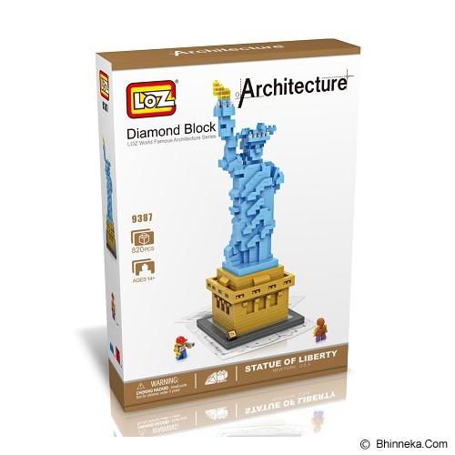 LOZ Blocks Statue of Liberty [9387] - Building Set Architecture
