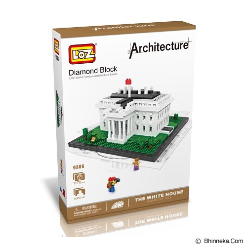 LOZ Blocks The White House [9386] - Building Set Architecture