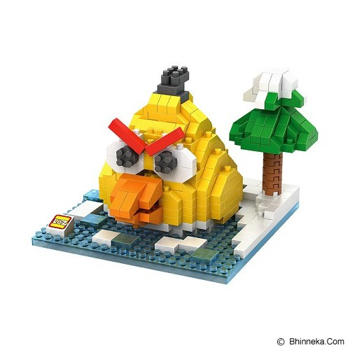 LOZ Gift Large Angry Bird [9513] - Yellow - Building Set Movie