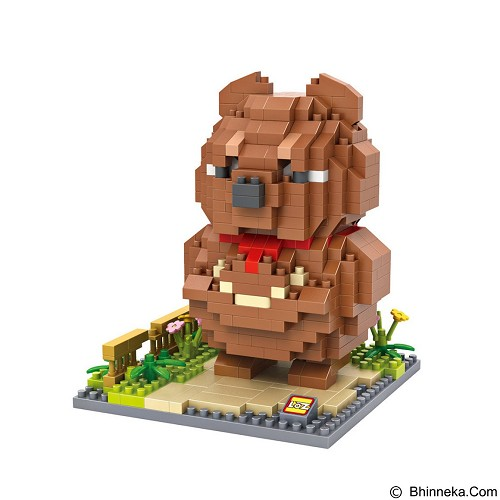 LOZ Nano Blocks Mashimaro Boogaloo [9848] (Merchant) - Building Set Movie
