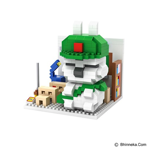 LOZ Nano Blocks Mashimaro Student [9845] (Merchant) - Building Set Movie