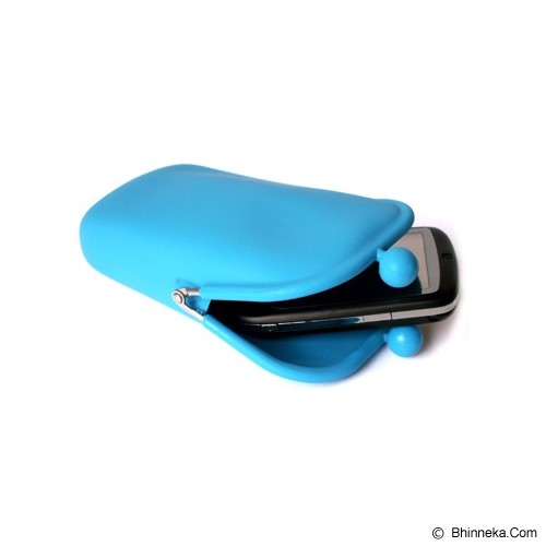 LTISHOP Pouch [DS061] - Light Blue - Sarung Handphone / Pouch