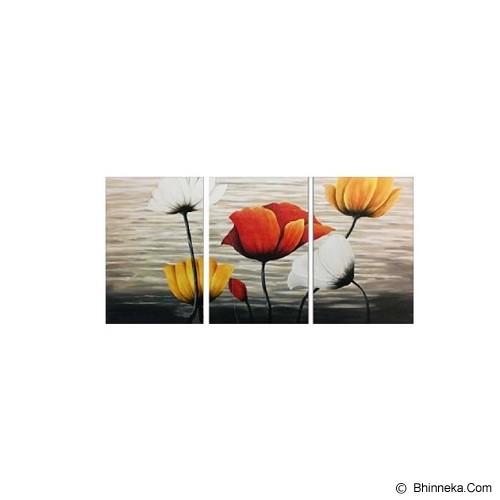 LUKISANKU Bunga [KG31-SPX] - Wall Art / Hiasan Dinding