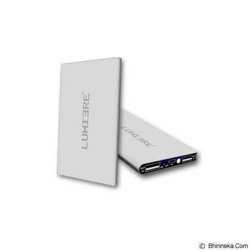 LUMIERE Powerbank 12000mAh - Silver - Portable Charger / Power Bank