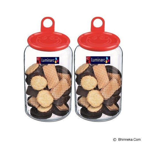 LUMINARC Rondo Jar Smile 1.0 [H5487] - 2pcs - Toples