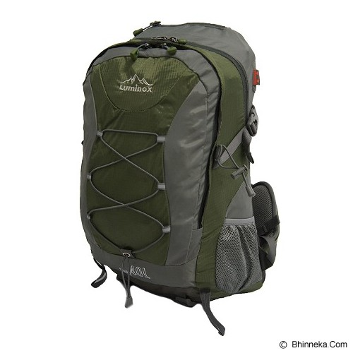 LUMINOX Hiking Backpack 40L [5026] - Army Green - Tas Carrier/Rucksack