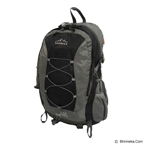 LUMINOX Hiking Backpack 40L [5026] - Hitam - Tas Carrier/Rucksack
