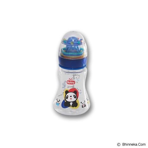 LUSTY BUNNY Baby Bottle Plus Toy 150ml - Blue - Botol Susu
