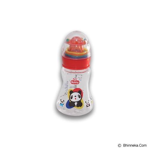 LUSTY BUNNY Baby Bottle Plus Toy 150ml - Red - Botol Susu
