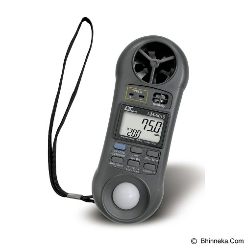 LUTRON Anemometer [LM-8010] - Alat Ukur Tekanan Angin
