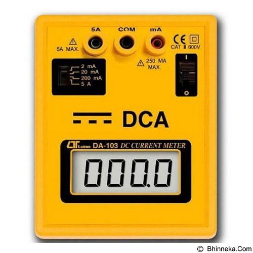 LUTRON DCA Bench Meter [DA-103] - Tester Listrik