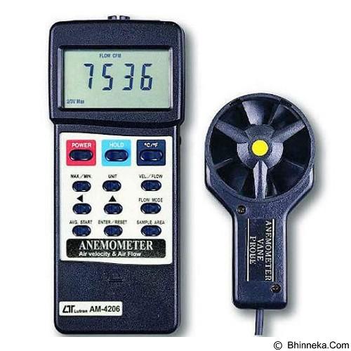 LUTRON Digital Anemometer [AM-4206] - Tester Listrik