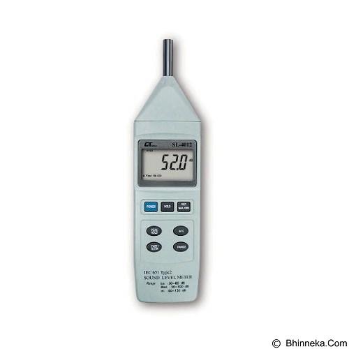 LUTRON Sound Level Meter [SL-4012] - Alat Ukur Kebisingan Suara
