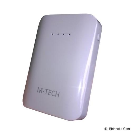 M-TECH Powerbank 6600mAh - White - Portable Charger / Power Bank