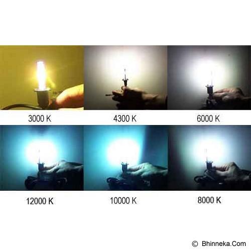 MAG HID Conversion Kit Single Beam H1 - 3000K - Lampu Mobil