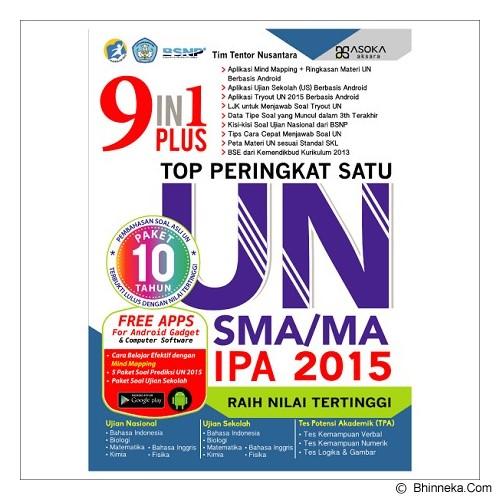 MAGENTA GROUP 9 in 1 plus Top Peringkat Satu UN SMA/MA 2015 - Buku Soal Latihan Un & Snmptn