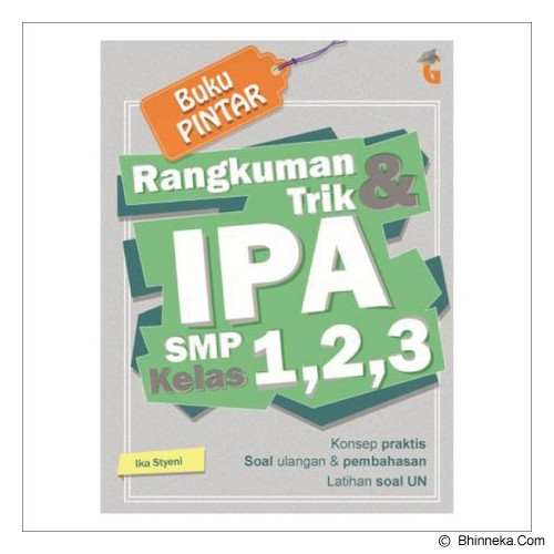 MAGENTA GROUP Buku Pintar Rangkuman & Trik IPA SMP kelas 1-3 - Craft and Hobby Book