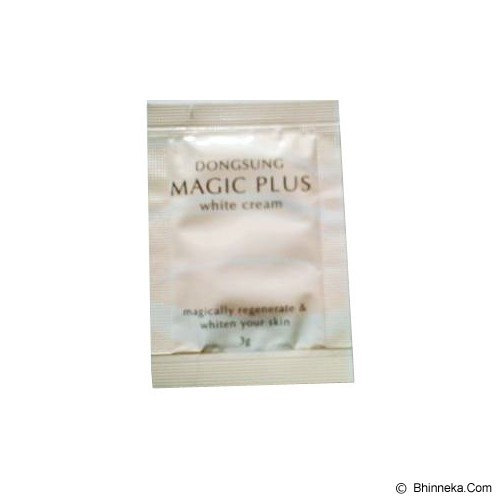 MAGIC PLUS White Cream Sachet - Krim / Pelembab Wajah