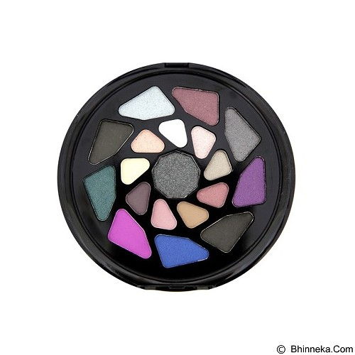 MAKEUP REVOLUTION I heart Makeup Go! Palettes Go to Hell Eyeshadow (Merchant) - Eye Shadow