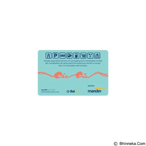 MANDIRI e-Money Cie-Cie - E-Toll Pass