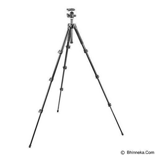 MANFROTTO 293 Aluminium 4 Section Tripod Kit Ballhead (Merchant) - Tripod Combo With Head