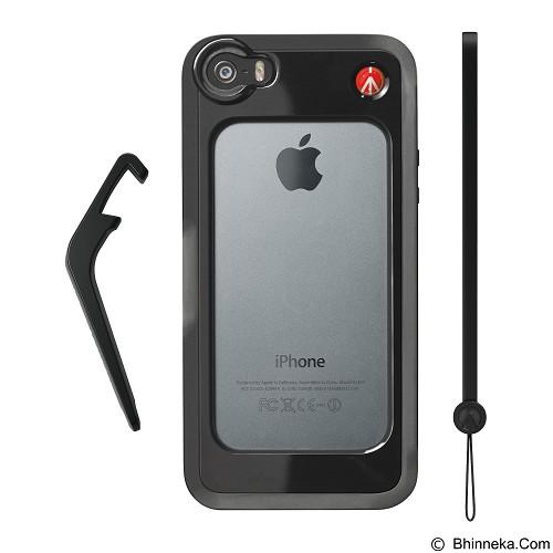 MANFROTTO Bumper for iPhone 5/5S [MCKLYP5S-B] - Black - Casing Handphone / Case