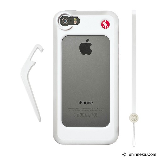 MANFROTTO Bumper for iPhone 5/5S [MCKLYP5S-W] - White - Casing Handphone / Case