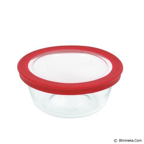 MARINEX Pratica Medium Round Bowl with Lid 1.2L [6313] - Mangkuk / Mangkok / Bowl