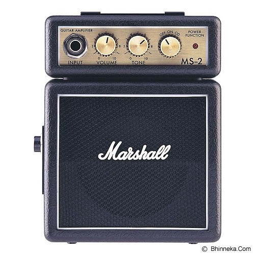 MARSHALL Guitar Amplifier Minimicro [MS-2] - Black - Gitar Amplifier