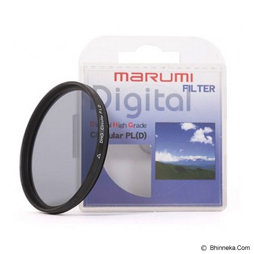 MARUMI DHG Circular PL (D) 62mm - Filter UV dan Protector