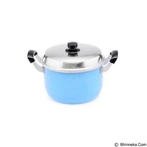 MASPION Dandang Alcor 24 cm - Blue (Merchant) - Panci