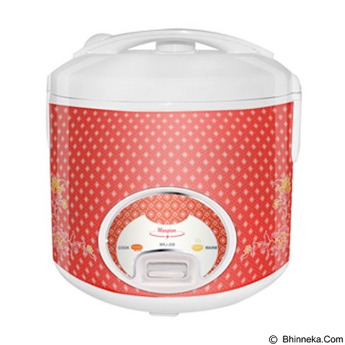 MASPION Magic Com [MRJ-208] - Red Batik - Rice Cooker