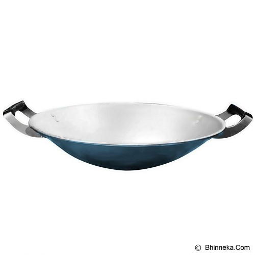 MASPION Wajan Clarita 33cm - Blue - Penggorengan / Frypan