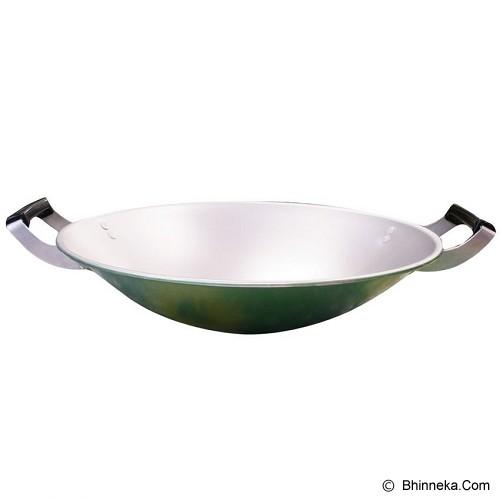 MASPION Wajan Clarita 33cm - Green - Penggorengan / Frypan