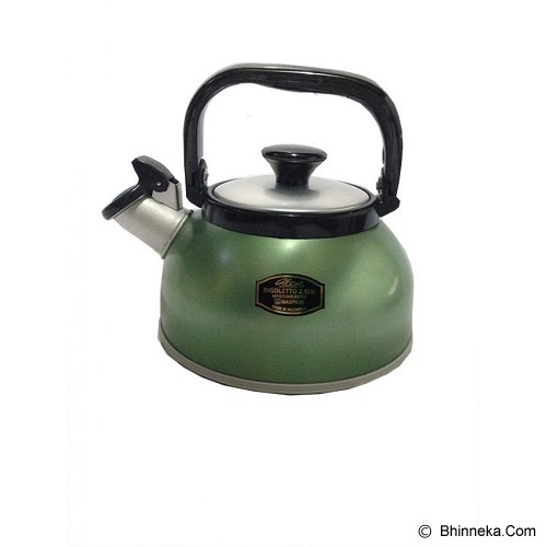MASPION Whistling Kettle 2.5L - Green - Kendi / Pitcher / Jug