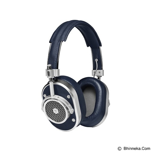 MASTER & DYNAMIC Over Ear Headphone [MH 40] - Silver Navy - Headphone Full Size