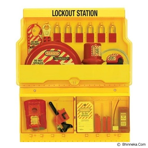 MASTER LOCK Deluxe Safety Lock Out Station [S1900ve1106] - Gembok Kombinasi
