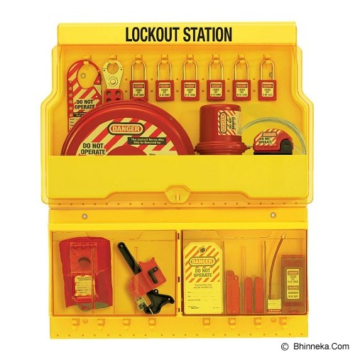 MASTER LOCK Deluxe Safety Lock Out Station [S1900ve410] - Gembok Kombinasi