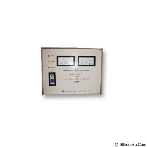 MATSUMOTO Stabilizer 2000VA (Merchant) - Stabilizer Consumer
