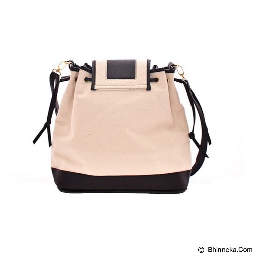 MAYONETTE Joanna Canvas Bag [B000352/BLA/00] - Black (Merchant) - Shoulder Bag Wanita