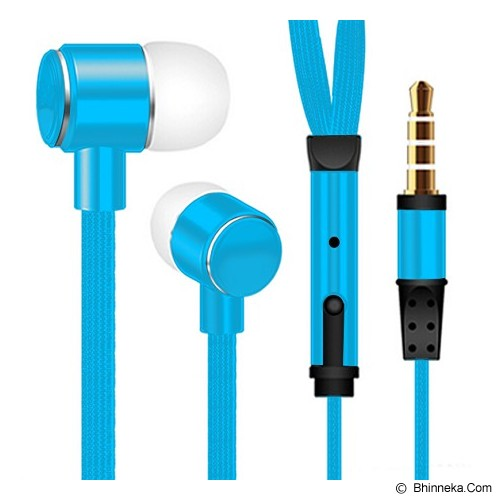 MDISK Earphone [845A] - Biru - Earphone Ear Monitor / Iem