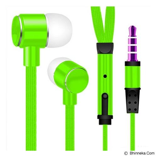 MDISK Earphone [845A] - Hijau - Earphone Ear Monitor / Iem