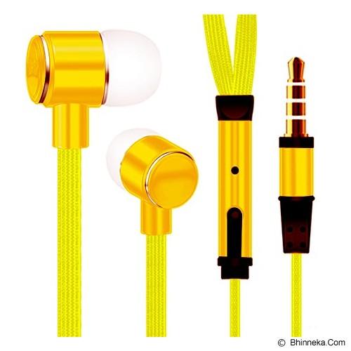 MDISK Earphone [845A] - Kuning - Earphone Ear Monitor / Iem
