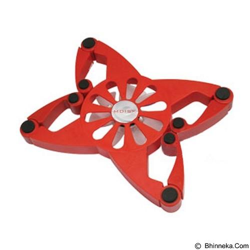 MDISK Notebook Cooler Lipat Butterfly [J098] - Red - Notebook Cooler
