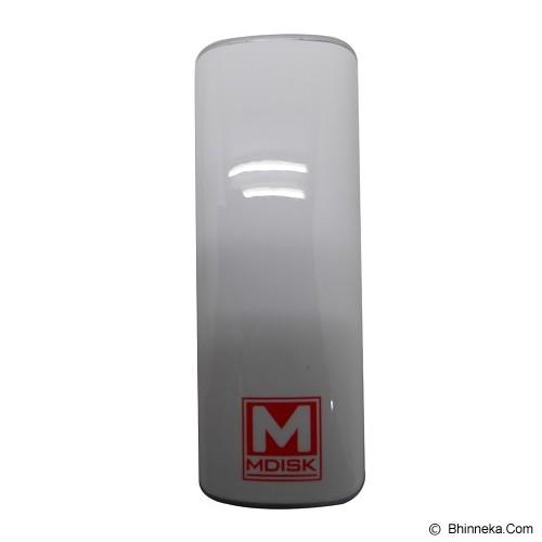 MDISK Powerbank 5200 [T220] - Putih - Portable Charger / Power Bank