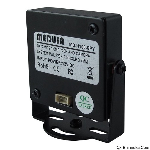 MEDUSA CCTV AHD Indoor Mini [MD-H100-SPY] - Black - Cctv Camera