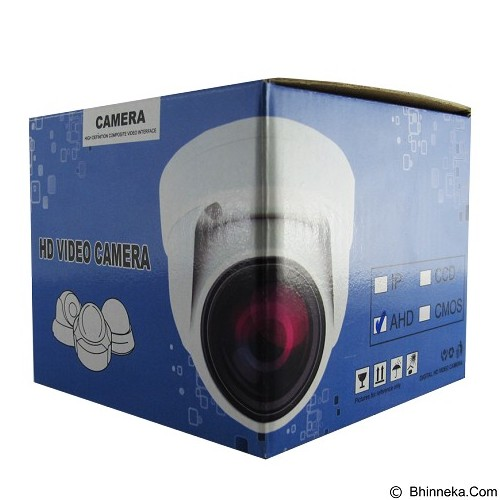 MEDUSA CCTV Camera Dome AHD [213] - White - Cctv Camera